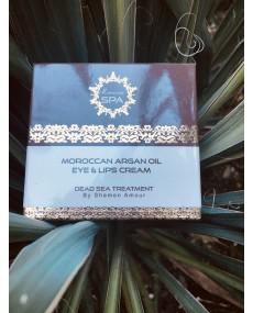 Krém pre oči a pery s arganovým olejom